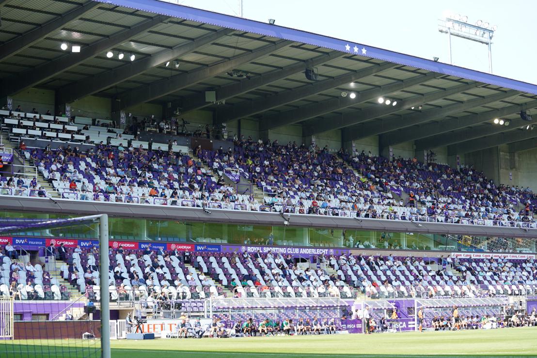 RSC Anderlecht begrijpt maatregelen, maar is ontgoocheld