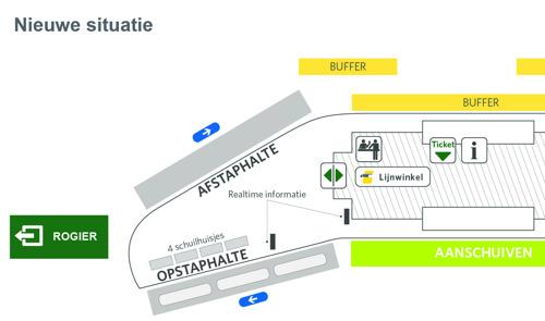 Groen licht voor verbeteringen aan busstation Brussel Noord