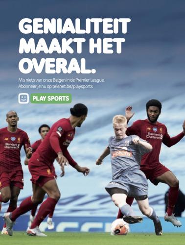 Play Sports en TBWA tonen grenzeloze liefde voor genialiteit