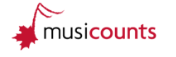 MusiCounts press room Logo