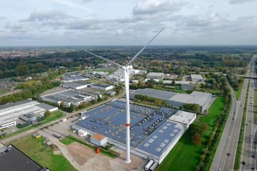 Avery Dennison bespaart 2.300 ton CO2 met eigen windmolen