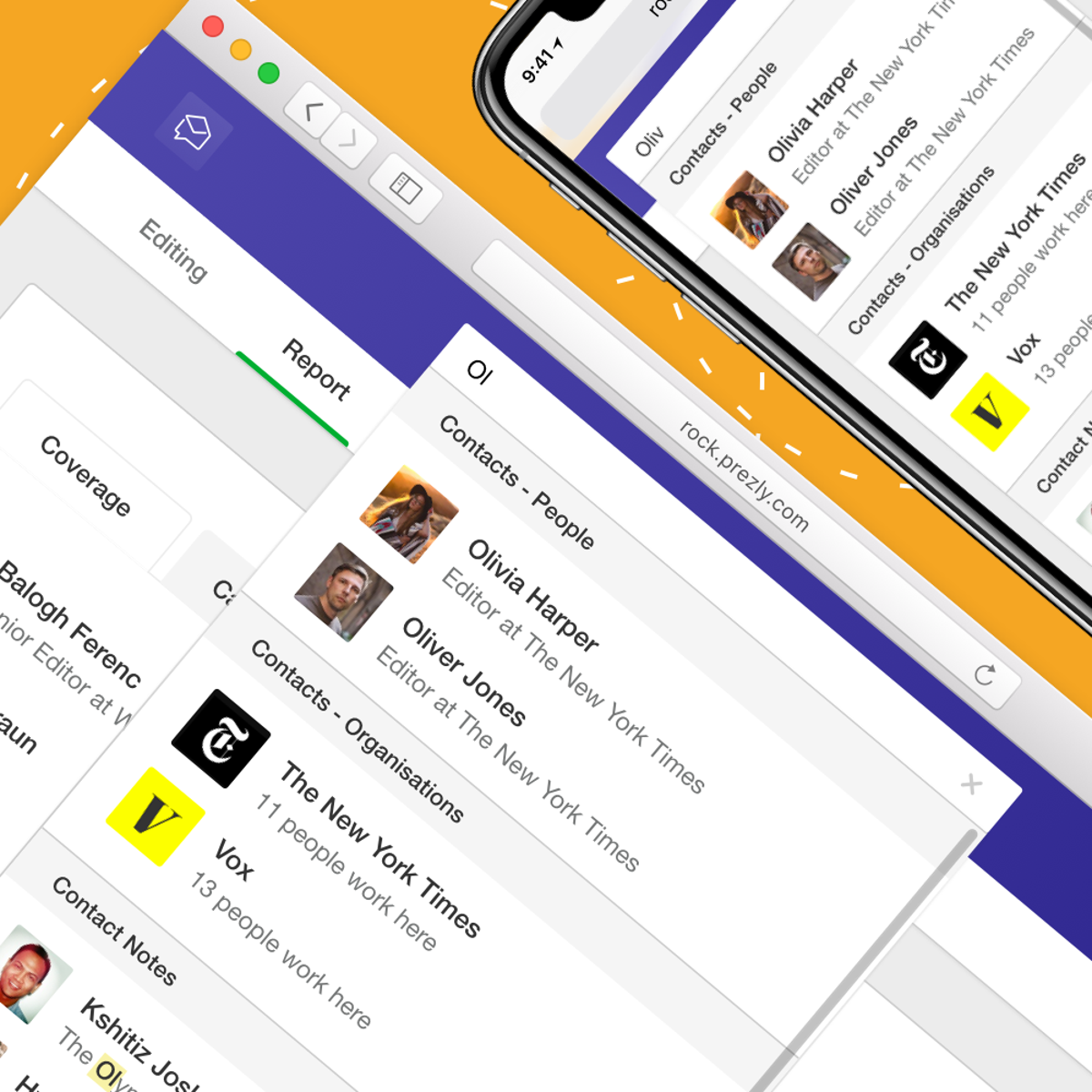 News: Search Notes, Stories, Campaigns, Pitches, and more...