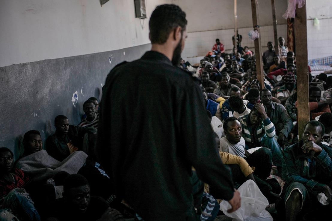 MSF exige que se detenga la detención arbitraria de los refugiados y migrantes interceptados por la Guardia Costera Libia