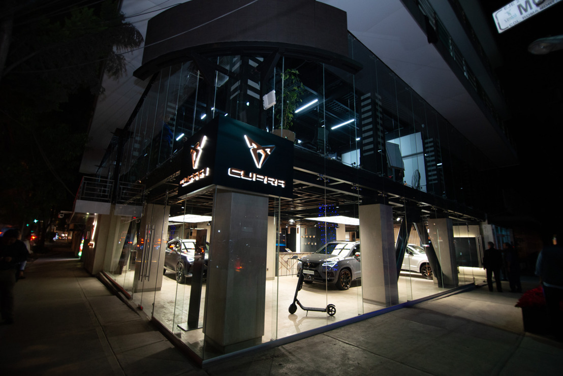 CUPRA opens its first CUPRA Garage worldwide in Mexico