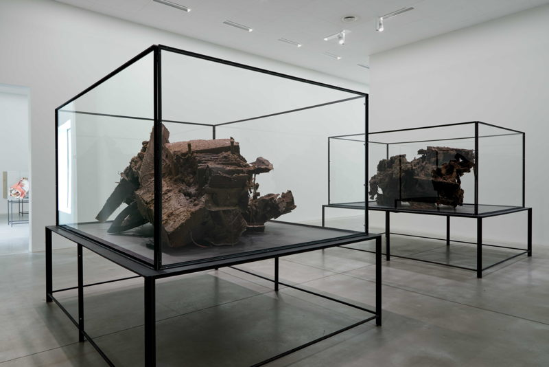 Peter Buggenhout, The Blind Leading The Blind #31, 2009 | The Blind Leading The Blind #28, 2009<br/>M – Museum Leuven, 2015<br/>Photo: Dirk Pauwels