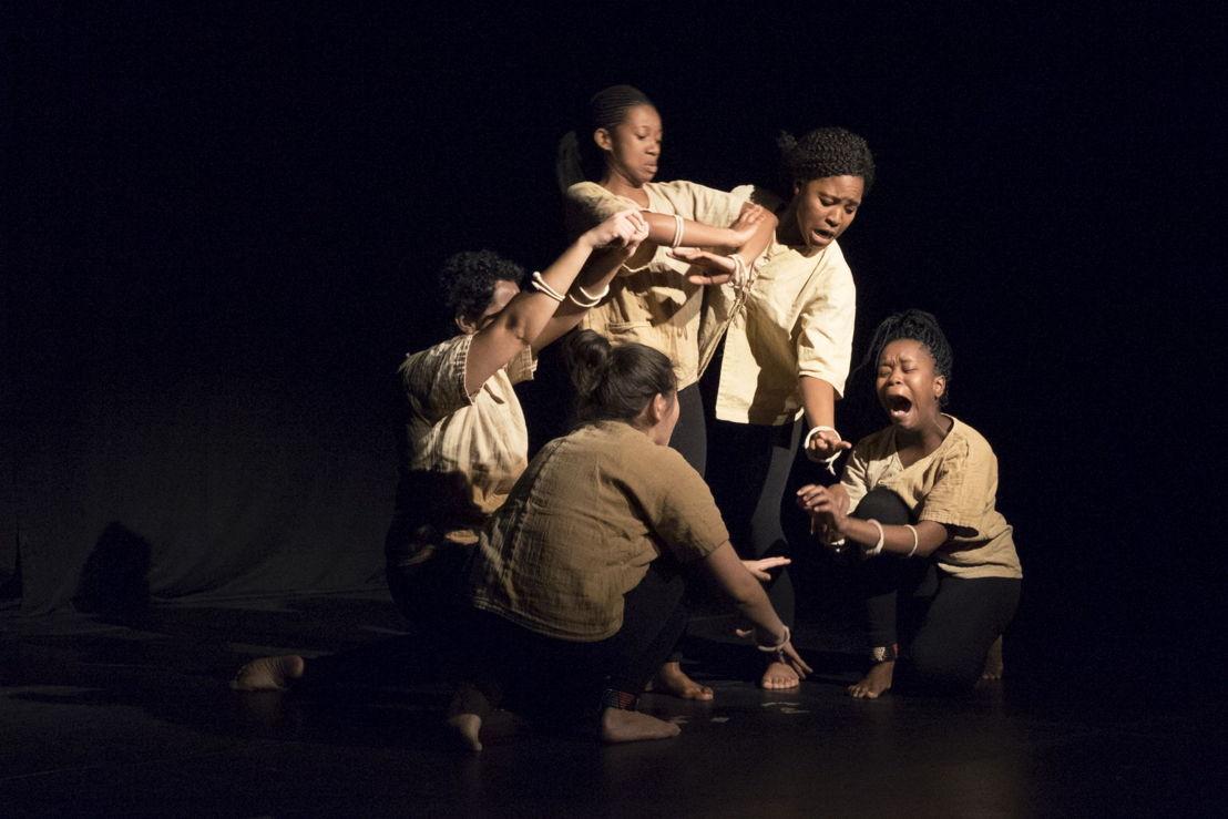 The Village, Student Theatre. Image credit CuePix: Megan Moore, National Arts Festival 2016