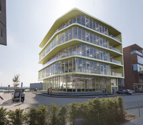 Emakina viert opening nieuw kantoor op Danzigerkade Amsterdam