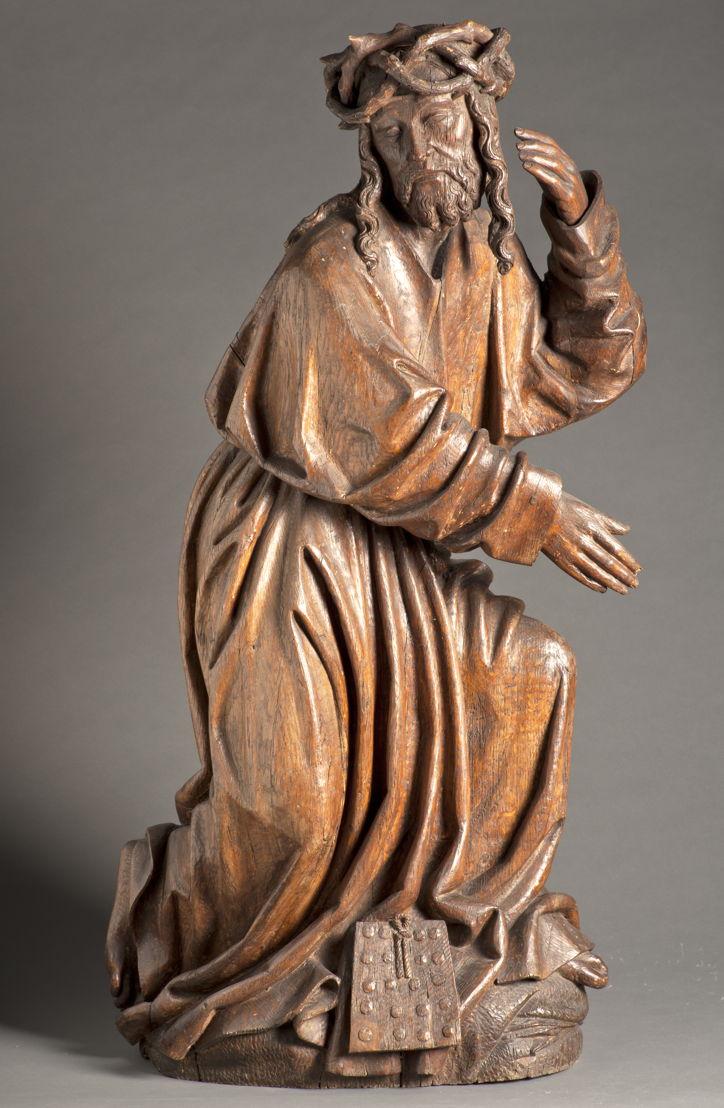 Christ de pitié, Maître du Christ de pitié, c. 1500 © M - Museum Leuven, foto Paul Laes