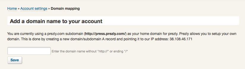 Incorporate Prezly on your website