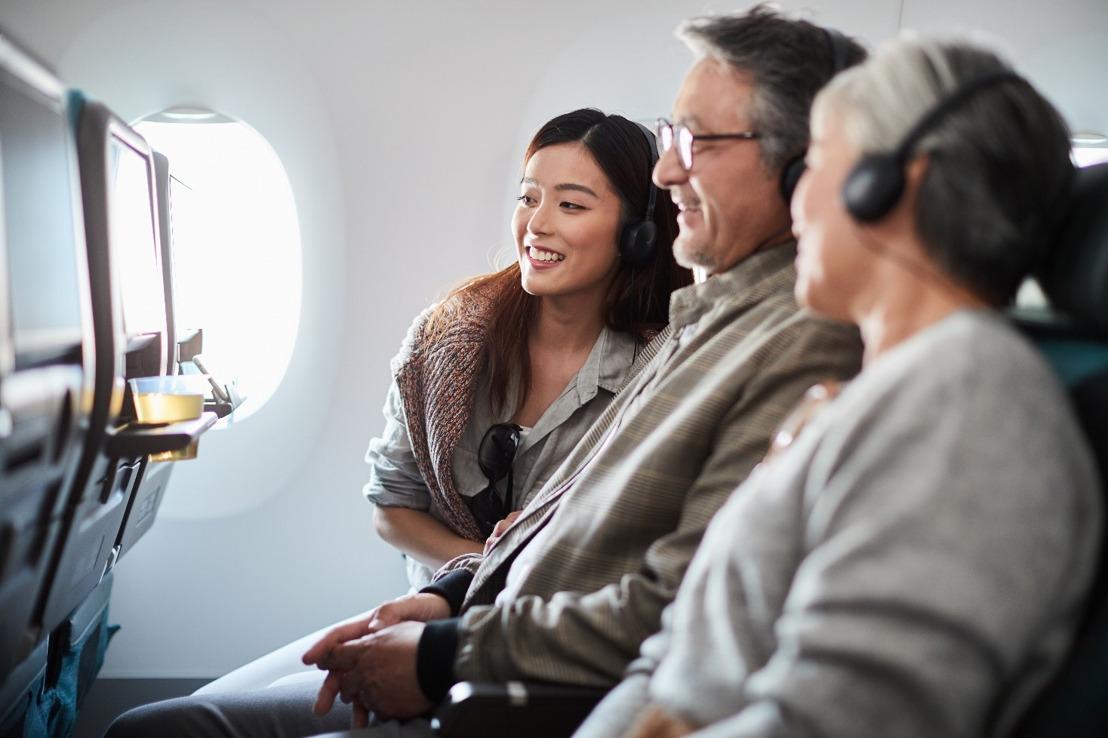 キャセイパシフィック航空 機内エンターテイメントのラインアップを従来の4倍に拡充