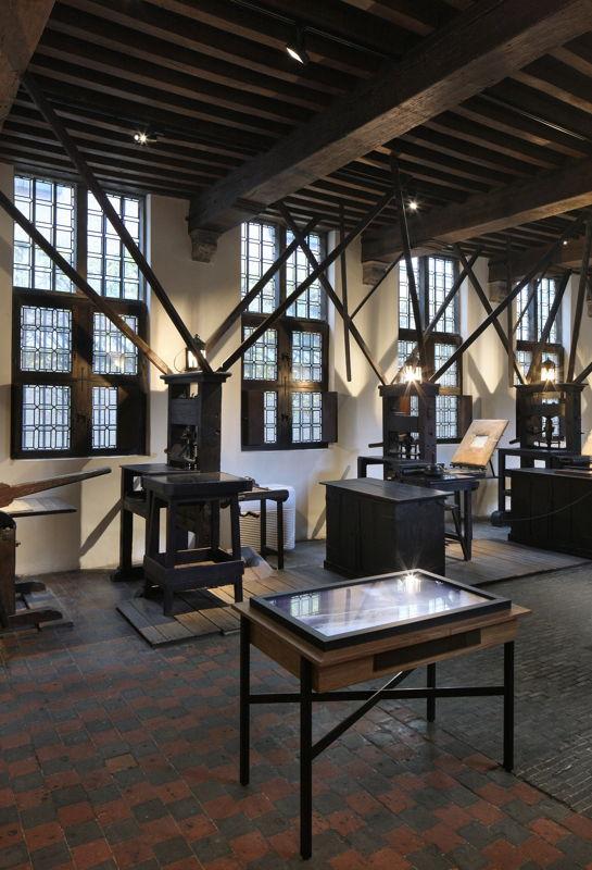 Printing factory, Museum Plantin-Moretus, photo: Filip Dujardin
