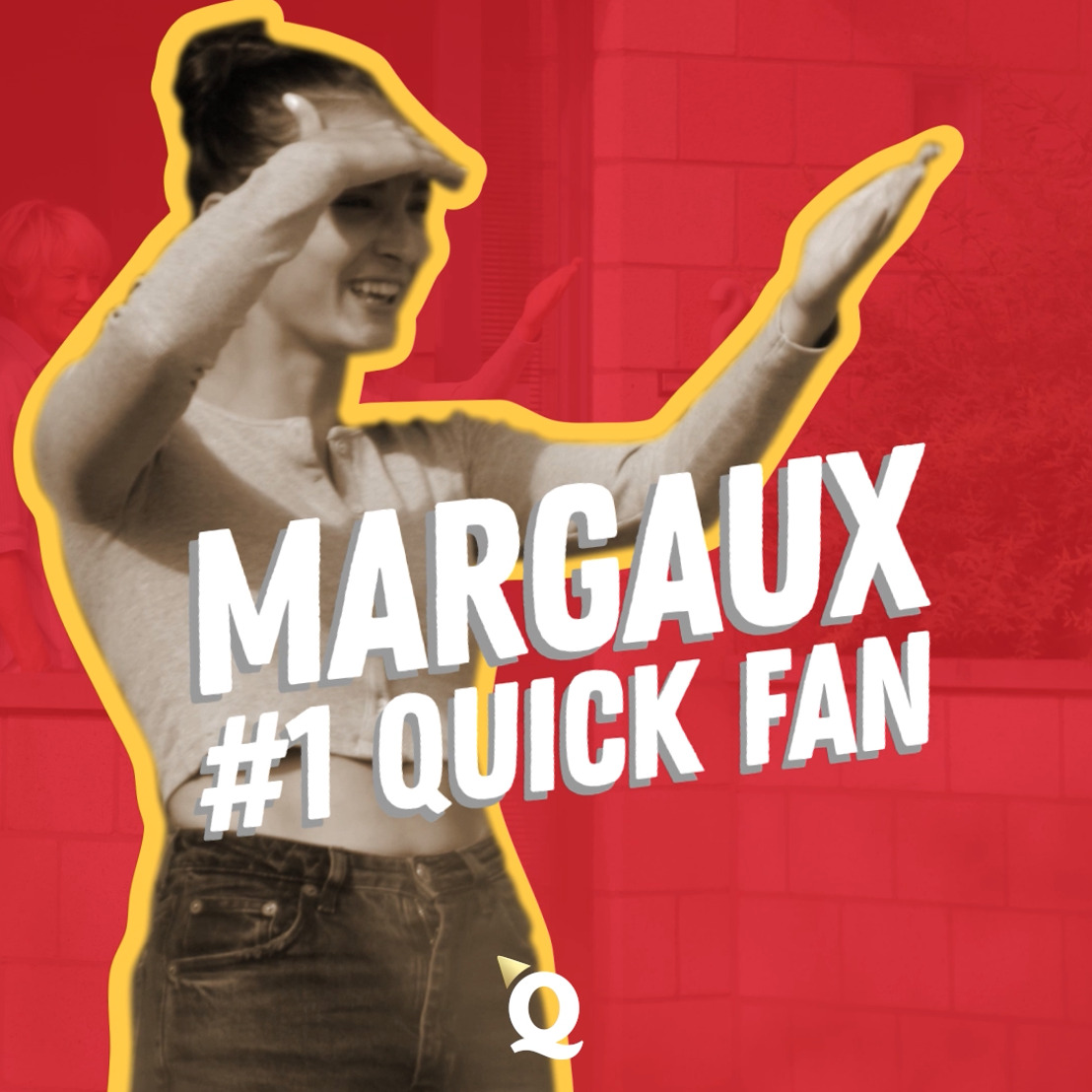 Quick en Happiness verrassen de grootste Quick-fan van België met een feestelijke delivery