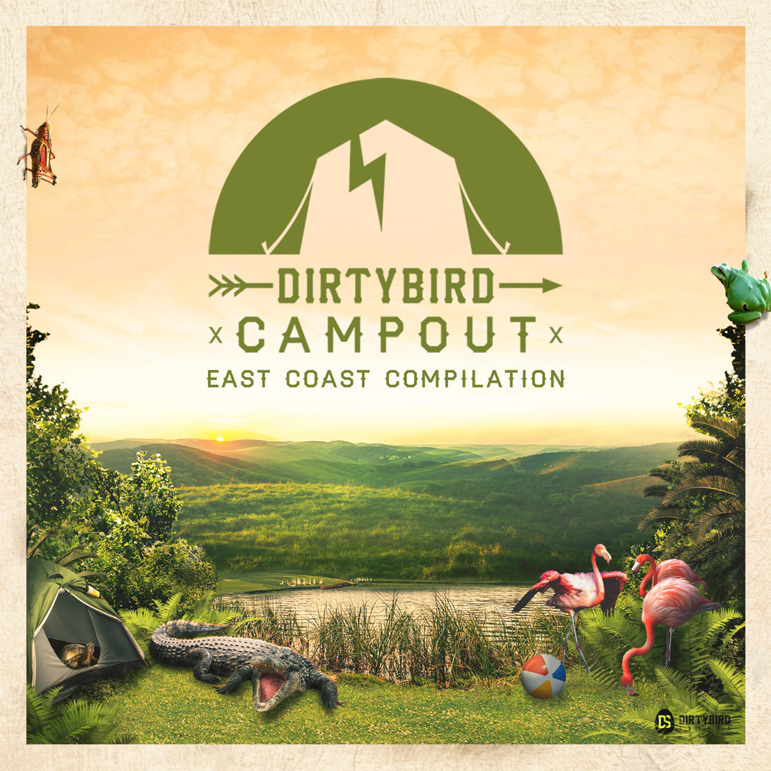 [LISTEN] Dirtybird Select Releases Campout East Compilation