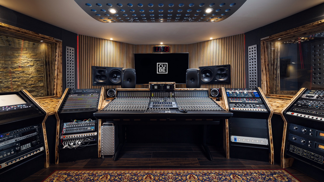 Cornwall's Cube Recording Studio Emerges from Lockdown with new Studio B, Featuring Solid State Logic ORIGIN and UF8 Controller