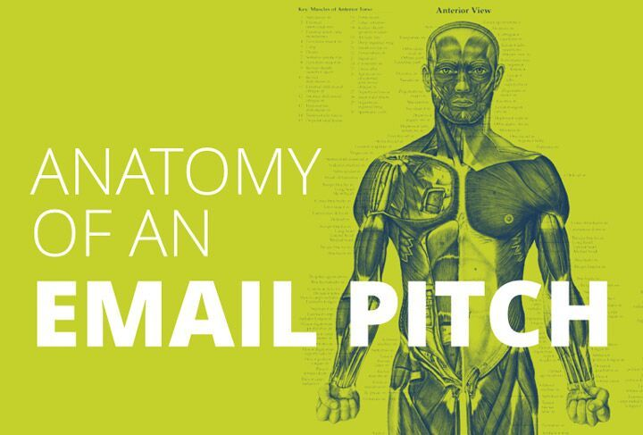 Anatomy of an email pitch