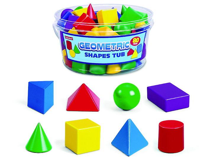 Geometric shape blocks
