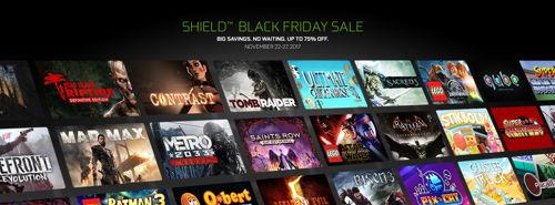Preview: NVIDIA SHIELD: Black Friday Sale bereits jetzt mit Rabatten bis zu 75 % auf Games