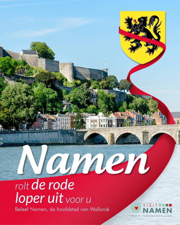 reminder - Namen charmeert de Vlamingen in Gent op maandag 28 mei!
