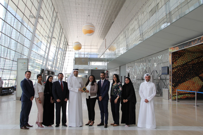 QATAR EXHIBITION, THE BIG 5 CONSTRUCT QATAR, WINS 'BEST INTERNATIONAL SHOW MIDDLE EAST & AFRICA' AT THE PRESTIGIOUS AEO AWARDS