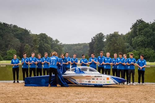 L'Agoria Solar Team dévoile une voiture solaire belge unique en son genre