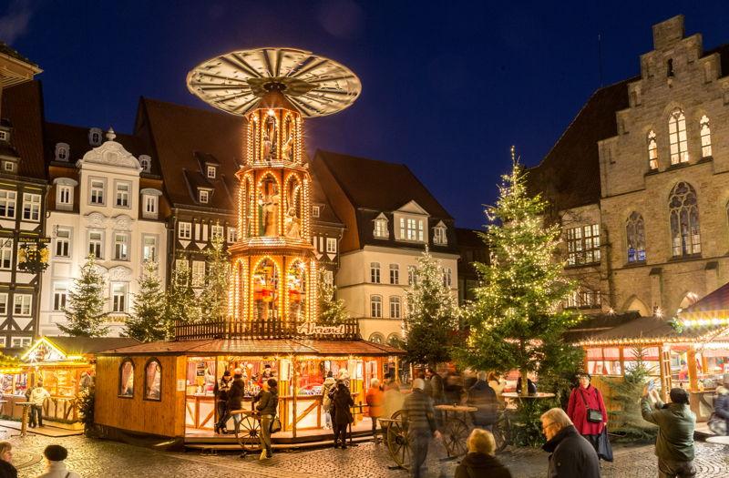 Hildesheim Weihnachtsmarkt 2016 © Dirk Bastert