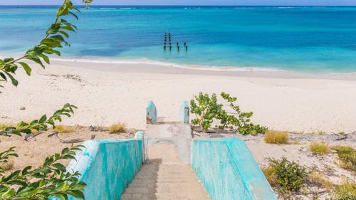 Aruba bant wegwerpplastic