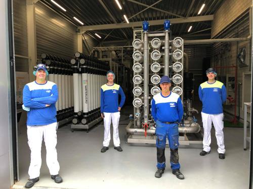 Danone Rotselaar innove et réduit jusqu'à 75% sa consommation d'eau