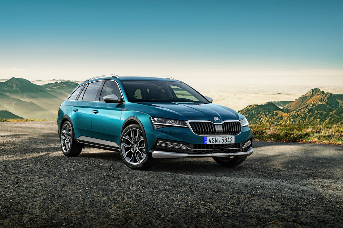 New ŠKODA SUPERB SCOUT added to SUPERB family for the first time