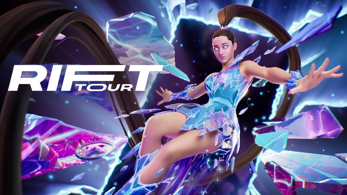 ¡Es hoy! Ariana Grande es la Estrella Principal del Rift Tour de Fortnite