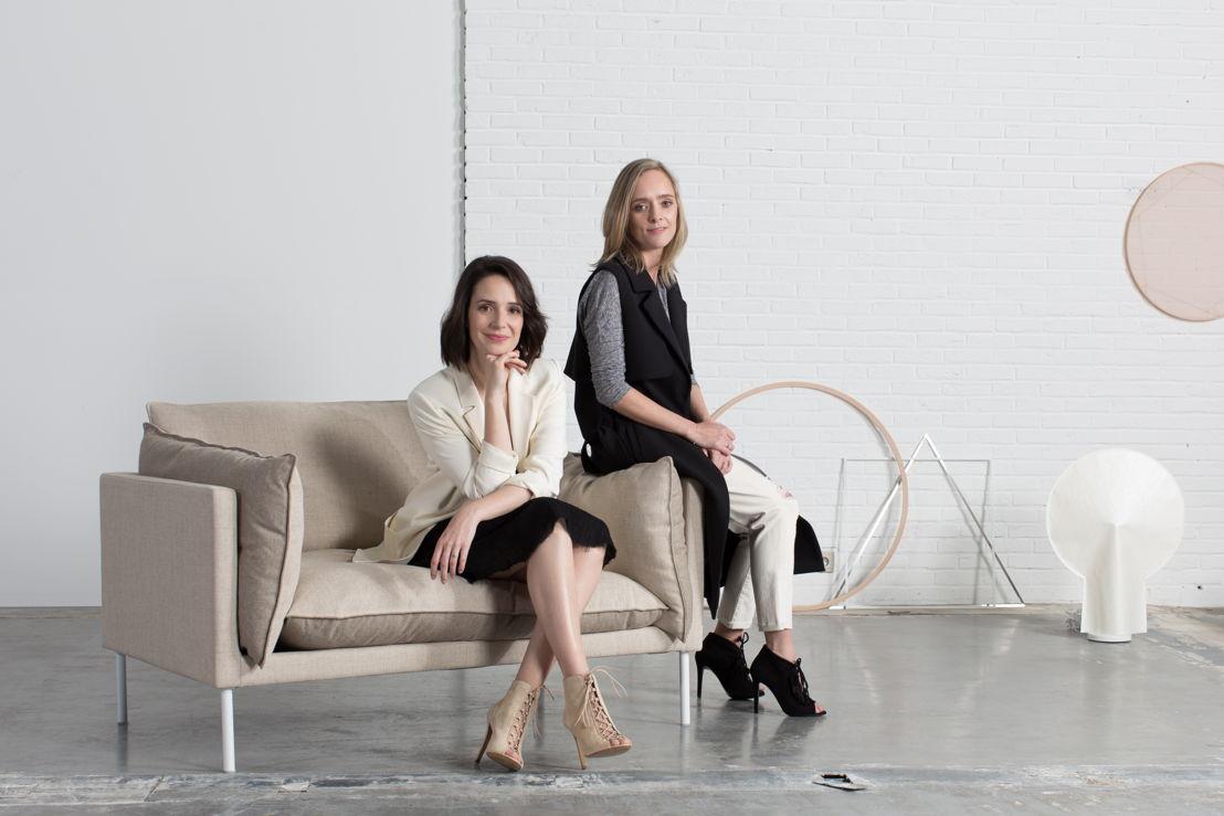 Stephanie Duval & Nele Pieters. © Gilles Draps