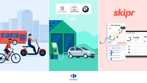 Semaine de la Mobilité : 80% des voitures de société commandées par les collaborateurs Carrefour sont hybrides ou électriques