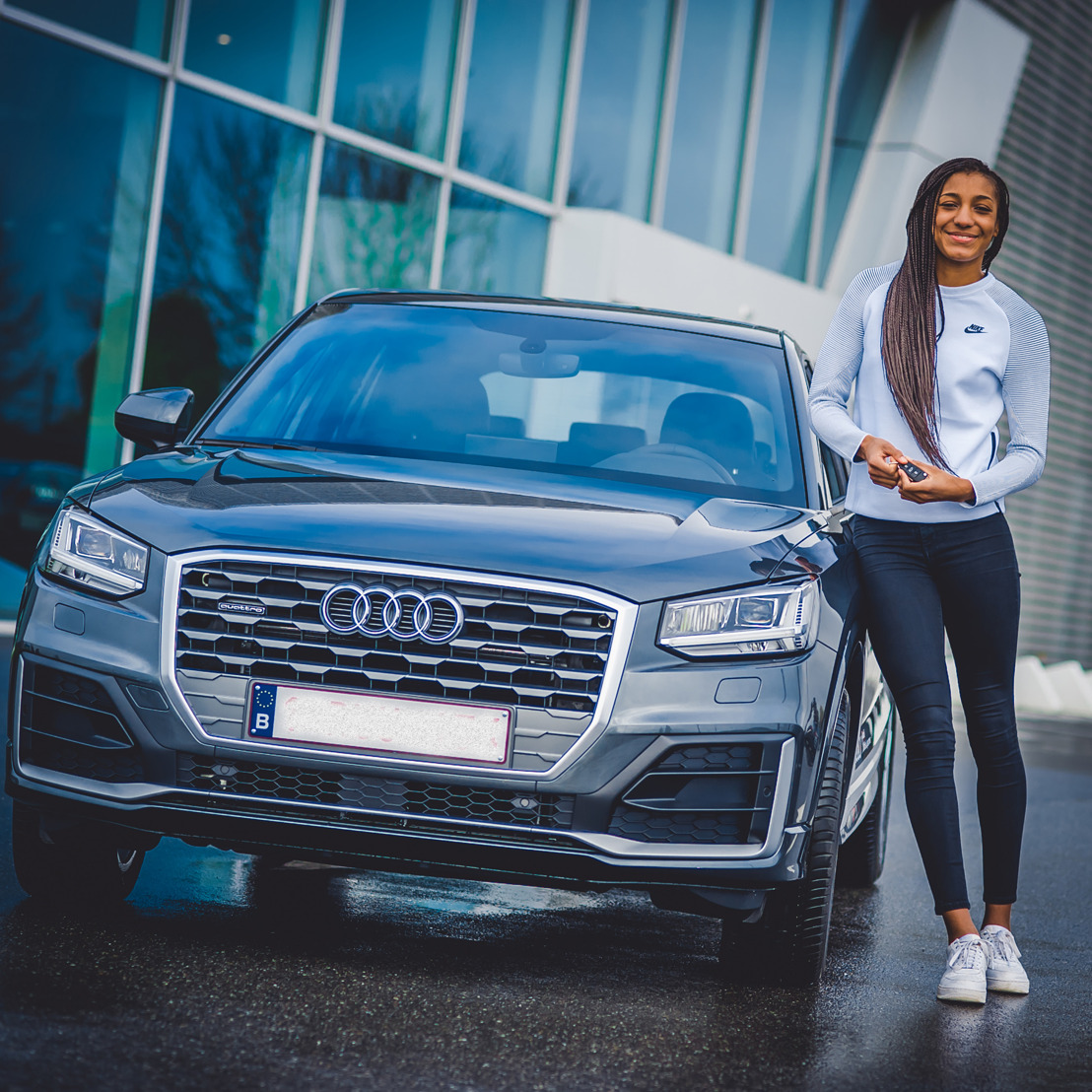 Audi poursuit son partenariat avec la championne d'heptathlon Nafissatou Thiam