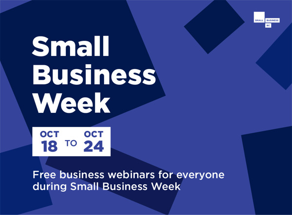 Preview: Small Business Week 2020 at Small Business BC