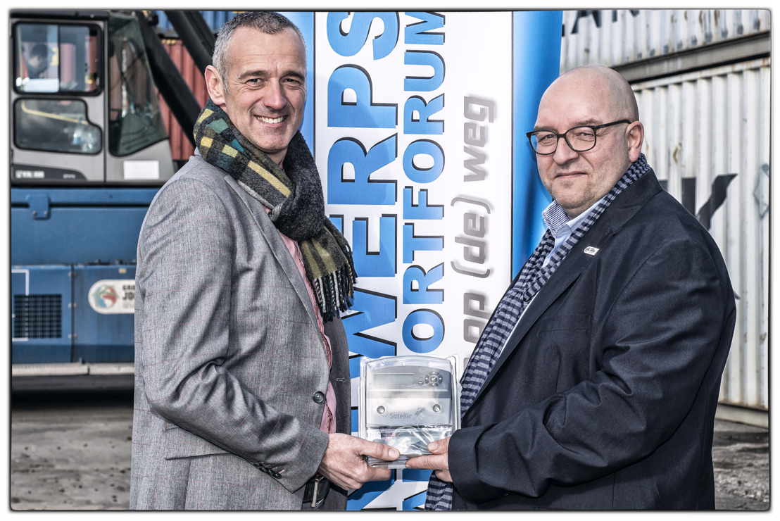 DKV Euro Service levert 1500 OBU's aan Antwerps Transportforum