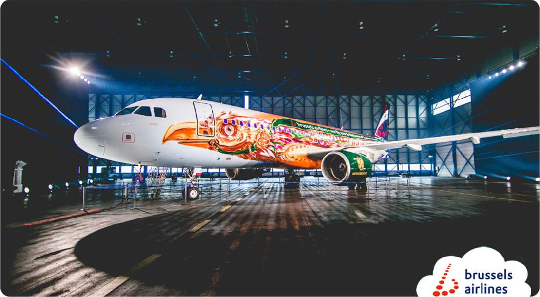 Brussels Airlines et Tomorrowland créent ensemble Amare