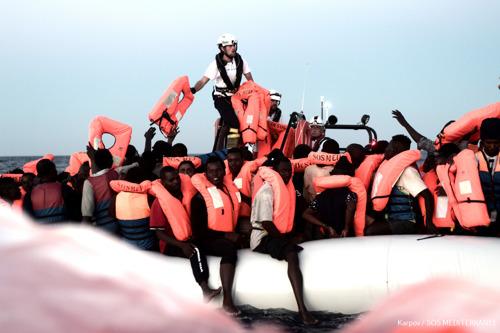 MEDITERRANEAN SEA: Over 600 people drown or presumed drowned in the last 4 weeks