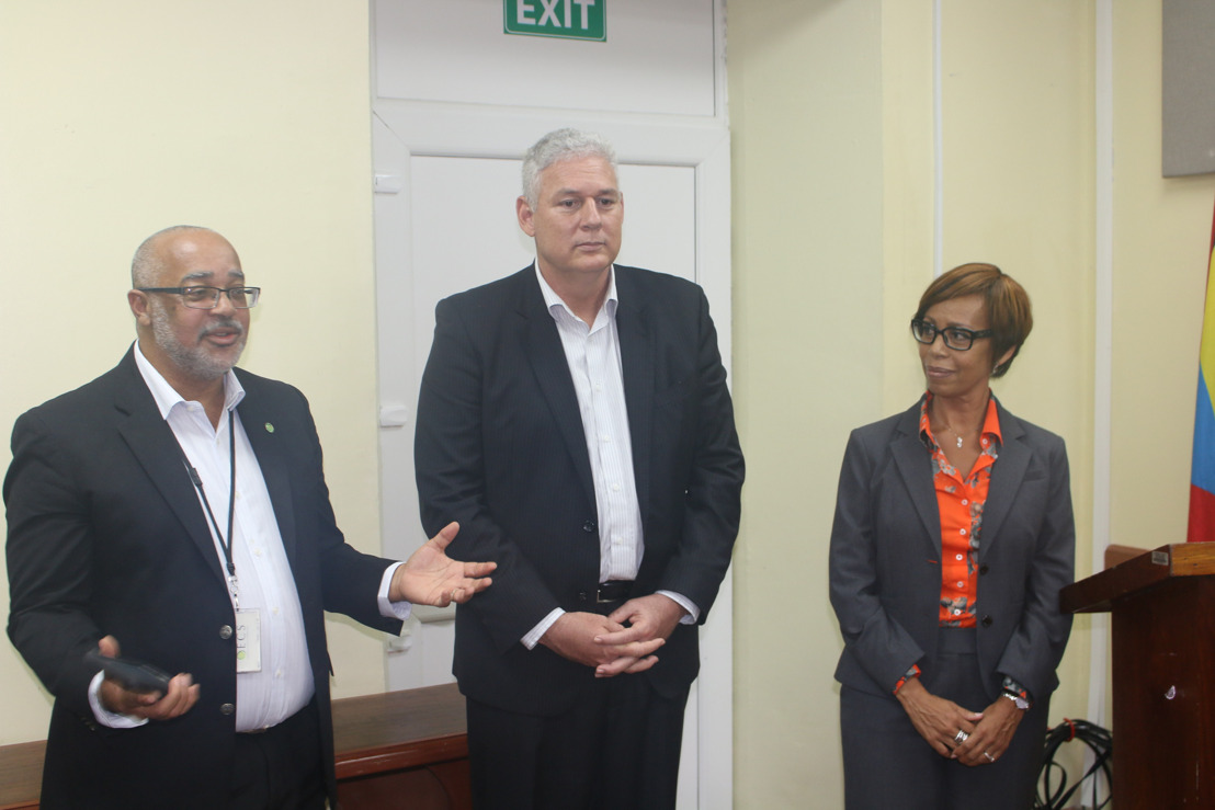 New Chairman of OECS Visits the OECS Commission - A Focus on Economic Growth