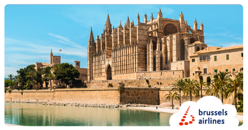 Brussels Airlines starts flights to popular Balearic destination Palma de Mallorca next summer