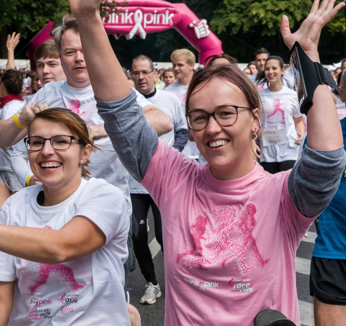 Brussel beweegt op 4 september in de strijd tegen borstkanker