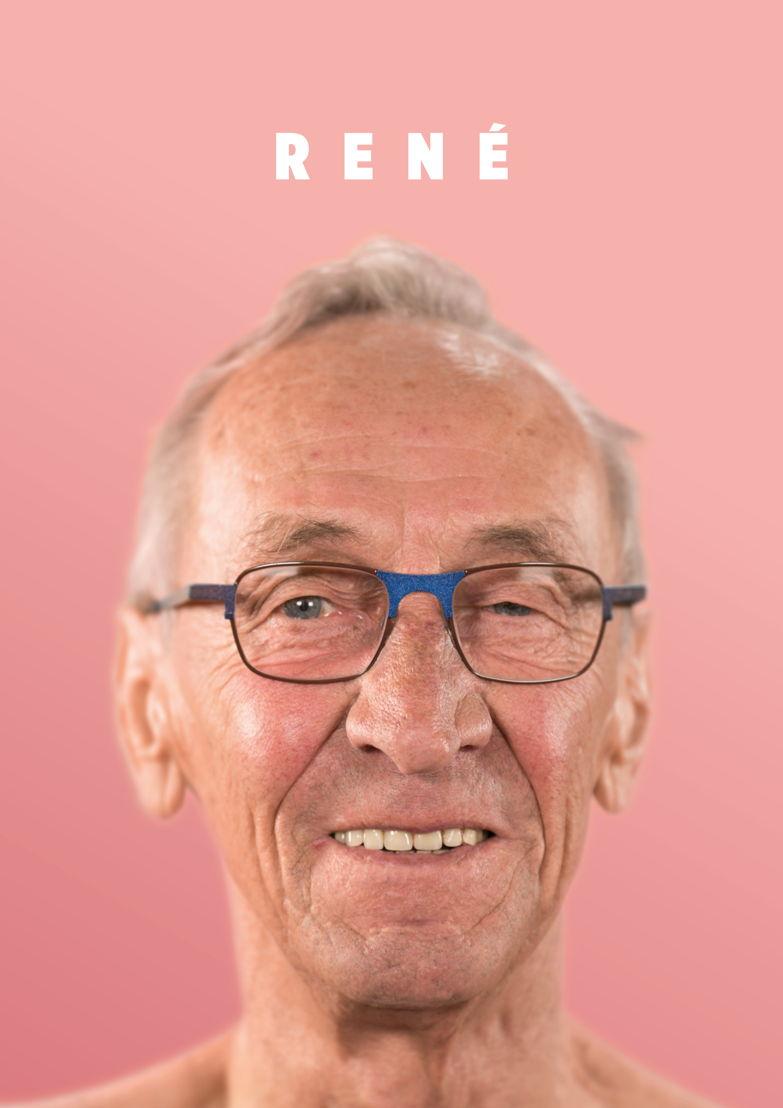 René, 72 jaar, weduwnaar.