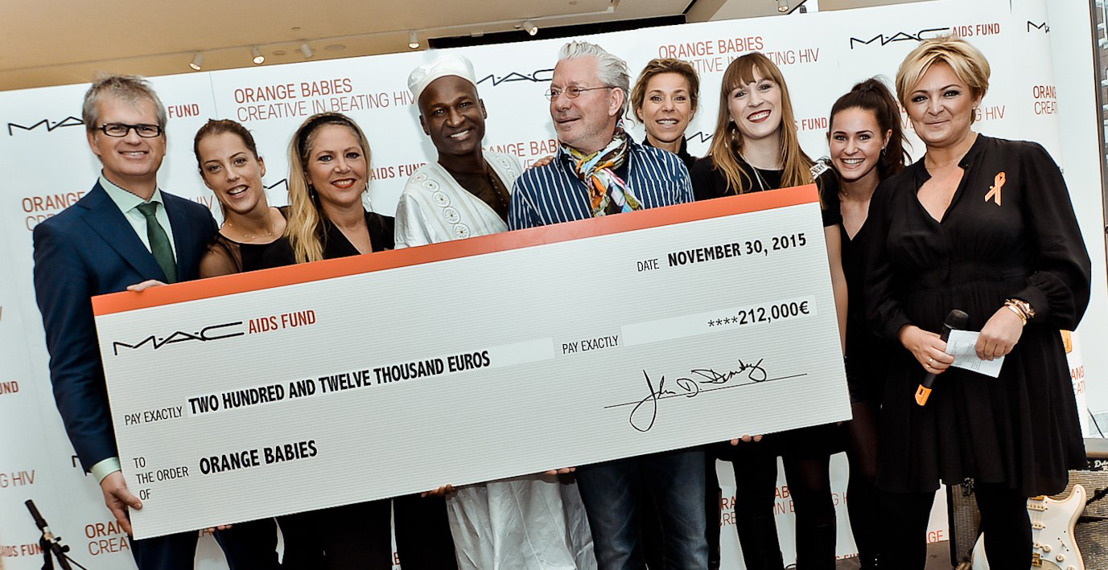 M.A.C Cosmetics doneert €212.000,- aan Orange Babies!
