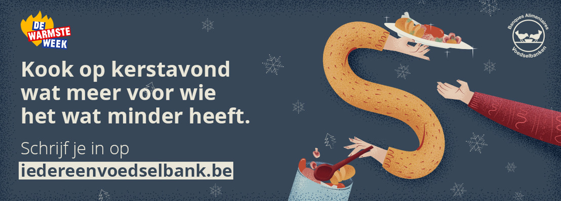 DDB maakt iedereen voedselbank op kerstavond