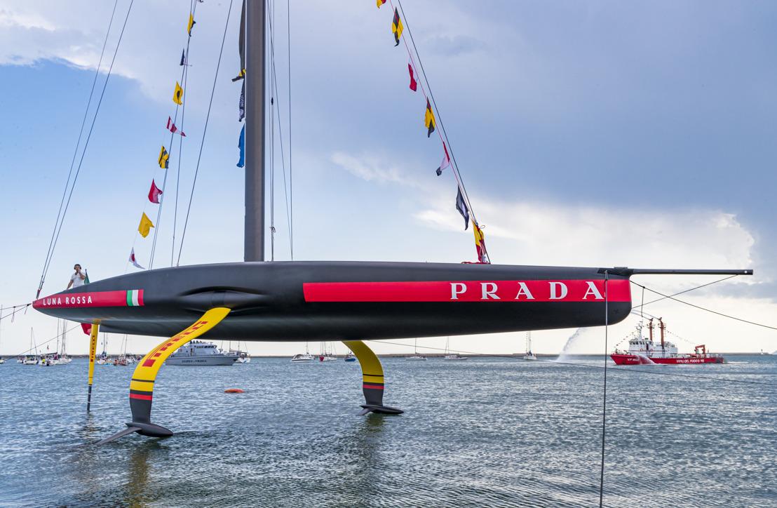 AC75 Luna Rossa, el nuevo monocasco presentado por Prada para la 36ª edición de la America's Cup