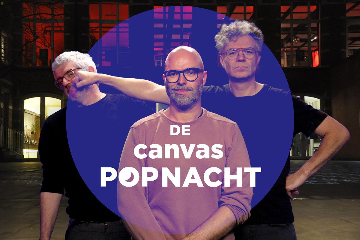 Jan Delvaux, Tomas De Soete en Jimmy Dewit (c) VRT