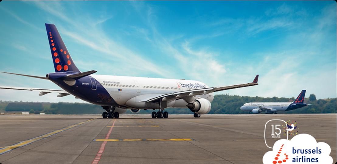 Brussels Airlines blikt terug op positieve 15de verjaardag