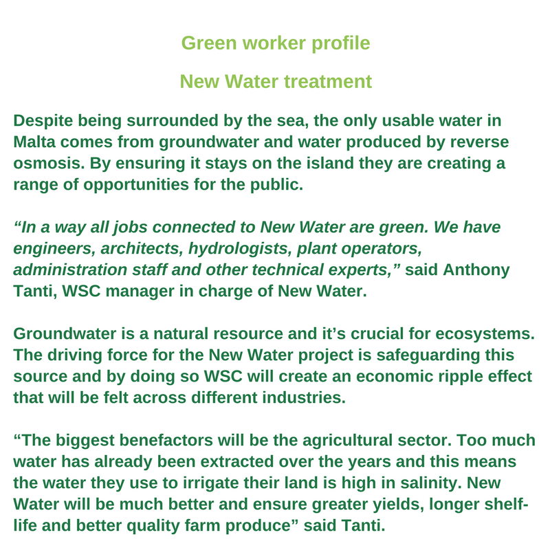 Green worker profile