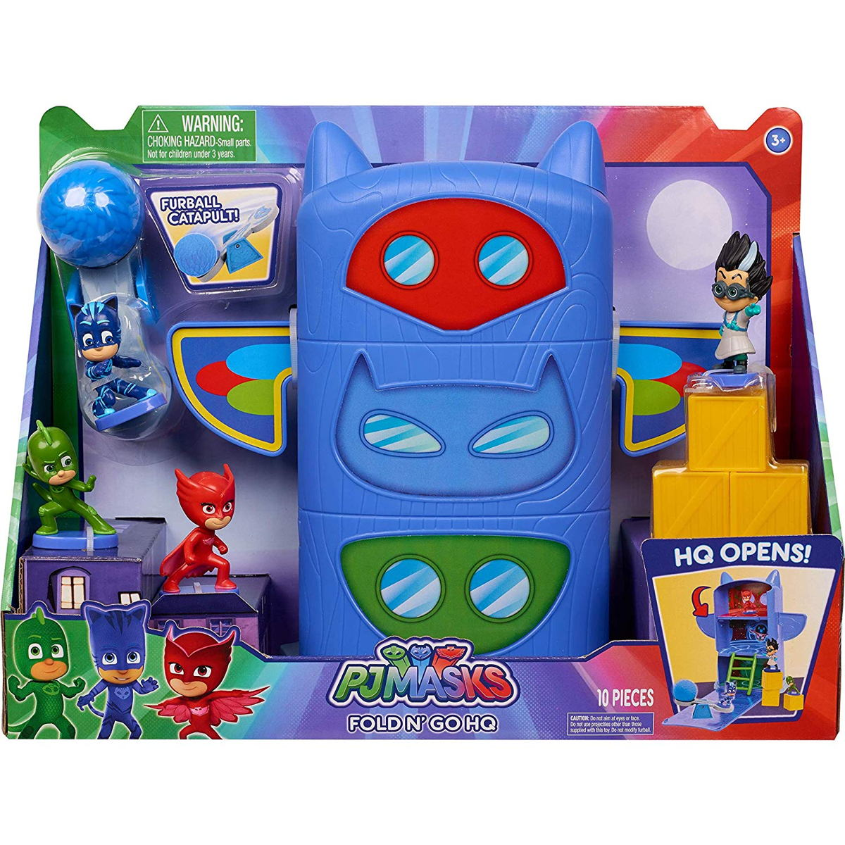 PJ Masks Fold 'N Go Headquarters