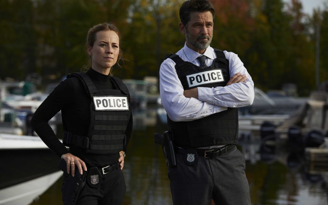 Billy Campbell en Karine Vanasse