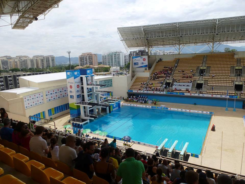 JJOO Río 2016 Centro Acuático