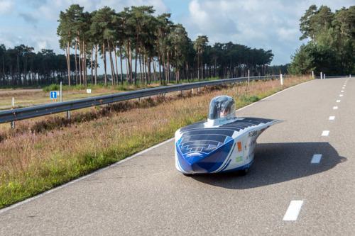 Laatste testdag in België voor Agoria Solar Team in Lommel